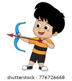 kid is engaged in a sports... | Shutterstock .eps vector #776726668
