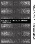 business and financial icon set ... | Shutterstock .eps vector #776726902