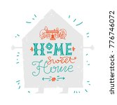 illustration of a house ... | Shutterstock .eps vector #776746072