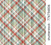 seamless plaid pattern.... | Shutterstock .eps vector #776756836