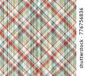 seamless plaid pattern.... | Shutterstock .eps vector #776756836