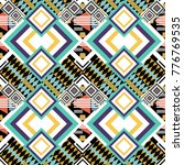seamless abstract pattern with...   Shutterstock . vector #776769535