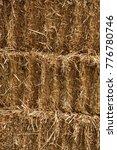 Small photo of Straw, dry straw, straw background texture.