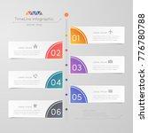 timeline infographics design...   Shutterstock .eps vector #776780788