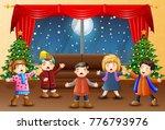 vector illustration of living...   Shutterstock .eps vector #776793976