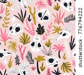 vector seamless pattern of... | Shutterstock .eps vector #776794222