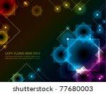 abstract background design | Shutterstock .eps vector #77680003