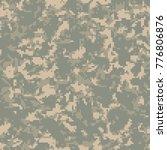 digital camouflage pattern ... | Shutterstock .eps vector #776806876