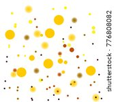 golden confetti. vector festive ... | Shutterstock .eps vector #776808082