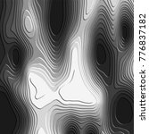 black and white 3d pattern with ... | Shutterstock .eps vector #776837182