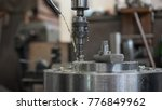 automatic heavy industrial...   Shutterstock . vector #776849962
