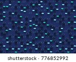 abstract background with... | Shutterstock . vector #776852992