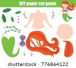 diy children educational...   Shutterstock .eps vector #776864122