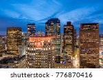 aerial view of boston in...   Shutterstock . vector #776870416