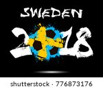 abstract number 2018 and soccer ...   Shutterstock .eps vector #776873176