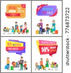 super price offer discount week ... | Shutterstock .eps vector #776873722