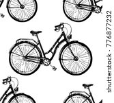 seamless vector pattern with... | Shutterstock .eps vector #776877232