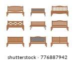 vector illustrations. set of... | Shutterstock .eps vector #776887942
