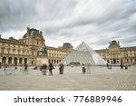 paris  france   september 10 ... | Shutterstock . vector #776889946