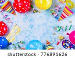 bright colorful carnival or... | Shutterstock . vector #776891626