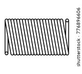 coil spring steel spring  metal ... | Shutterstock .eps vector #776896606