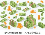 money currency vector... | Shutterstock .eps vector #776899618