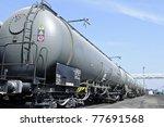 oil train wagon | Shutterstock . vector #77691568