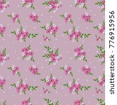 fashionable pattern in small... | Shutterstock . vector #776915956