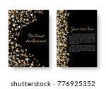 christmas shining design of the ... | Shutterstock .eps vector #776925352
