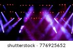 free stage with lights | Shutterstock . vector #776925652