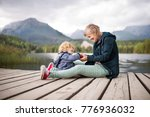 senior woman with little boy at ...   Shutterstock . vector #776936032