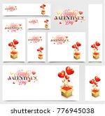 social media post or banners... | Shutterstock .eps vector #776945038