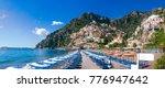 Wide Panorama Positano  Italy   ...