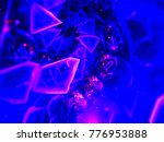 abstract fractal background... | Shutterstock . vector #776953888