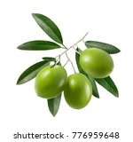 green olives with leaves square ... | Shutterstock . vector #776959648