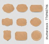 vintage labels set with... | Shutterstock .eps vector #776960746