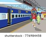 Indian Railway Porter