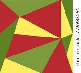 hipster banner design. triangle ... | Shutterstock .eps vector #776988595