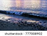 coastal strip and small... | Shutterstock . vector #777008902