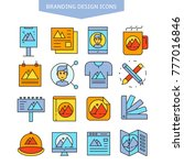 branding design and brand... | Shutterstock .eps vector #777016846
