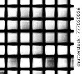 abstract grunge grid polka dot... | Shutterstock .eps vector #777020026