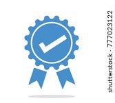 approved certificate graduation ... | Shutterstock .eps vector #777023122