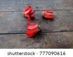 bombax ceiba flowers red flower | Shutterstock . vector #777090616