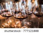 Wine Glasses In Warm Light Lof...