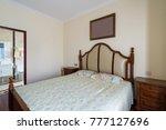 comfortable bedroom with nice...   Shutterstock . vector #777127696