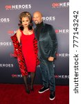 Small photo of New York, NY - December 17, 2017: Andra Day and Common attend 11th annual CNN Heroes All-Star Tribute at American Museum of Natural History
