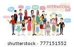 international thank you day.... | Shutterstock .eps vector #777151552