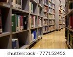 books  library  libraryman ... | Shutterstock . vector #777152452