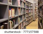 books  library  libraryman ... | Shutterstock . vector #777157588