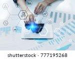 business structure diagram ...   Shutterstock . vector #777195268